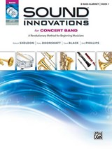 Sound Innovations for Concert Band for B-flat Bass Clarinet, Book | Robert Sheldon |