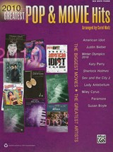 2010 Greatest Pop & Movie Hits | Alfred Publishing |