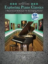 Exploring Piano Classics Repertoire, Bk | Alfred Publishing |
