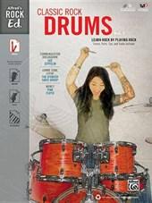 Alfred's Rock Ed. -- Classic Rock Drums, Vol