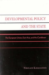 Developmental Policy and the State | Nikolaos Karagiannis |