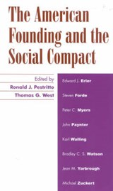 The American Founding and the Social Compact | auteur onbekend |