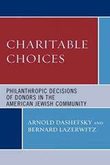 Charitable Choices | Arnold Dashefsky |