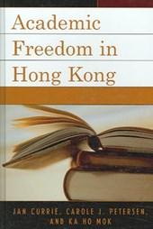 Academic Freedom in Hong Kong