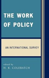 The Work of Policy | auteur onbekend |