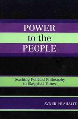 Power to the People | Avner De-Shalit |
