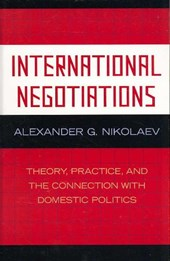 International Negotiations | Alexander G. Nikolaev |