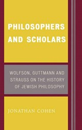 Philosophers and Scholars | Jonathan Cohen |