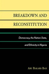 Breakdown and Reconstitution | Abu Bakarr Bah |