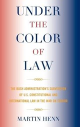 Under the Color of Law | Martin Henn |