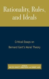 Rationality, Rules, and Ideals | Norman K. Risjord |