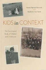 Kids in Context | Sarane Spence Boocock |