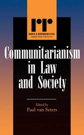 Communitarianism in Law and Society | Paul Van Seters |