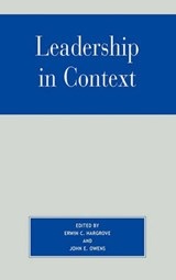 Leadership in Context | Erwin C. Hargrove |