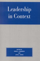 Leadership in Context | auteur onbekend |