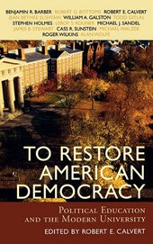 To Restore American Democracy