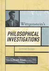 Wittgenstein's Philosophical Investigations | auteur onbekend |