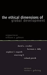 Ethical Dimensions of Global Development | Verna Gehring |