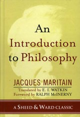 An Introduction to Philosophy | Jacques Maritain |