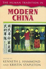 The Human Tradition in Modern China | auteur onbekend |