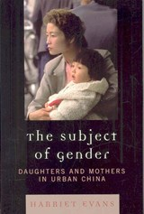 The Subject of Gender | Harriet Evans |
