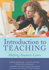 Introduction To Teaching | James Johnson |