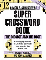 Simon and Schuster Super Crossword | John M. Samson |
