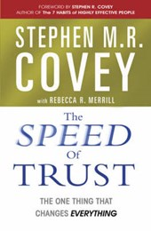 Speed of Trust | Stephen M R Covey |