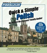 Pimsleur Polish Quick & Simple Course - Level 1 Lessons 1-8 CD | Pimsleur |