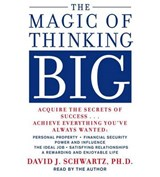 The Magic of Thinking Big | David J. Schwartz |