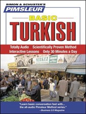 Pimsleur Basic Turkish [With Free CD Case]