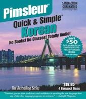Pimsleur Korean Quick & Simple Course - Level 1 Lessons 1-8 CD