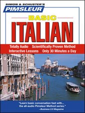 Pimsleur Italian Basic Course - Level 1 Lessons 1-10 CD