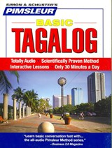 Pimsleur Tagalog Basic Course - Level 1 Lessons 1-10 CD | Pimsleur |