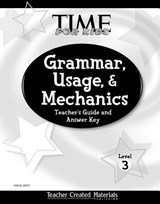 Grammar, Usage, and Mechanics Teacher's Guide (Level 3) (Level 3) | Teacher Created Materials |