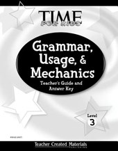 Grammar, Usage, and Mechanics Teacher's Guide (Level 3) (Level 3)