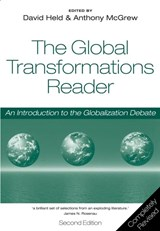 The Global Transformations Reader | David Held & Anthony G. Mcgrew |
