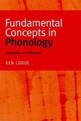 Fundamental Concepts in Phonology | Ken Lodge |