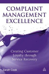Complaint Management Excellence | Sarah Cook |