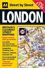 AA  Street by Street London | auteur onbekend |