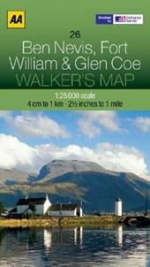 Walker's Map 26 Ben Nevis & Coe 1 :