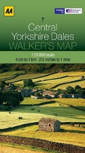 Walker's Map 07 Yorkshire Dales 1 :