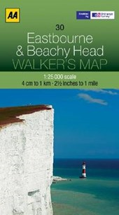 Walker's Map 30 Eastbourne 1 :