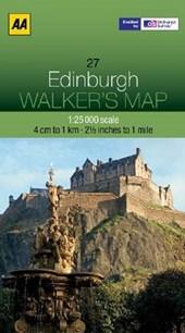 Walker's Map 27 Edinburgh 1 :