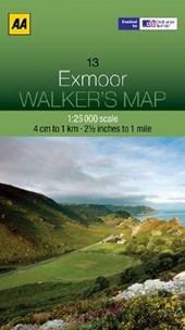 Walker's Map 13 Exmoor 1 :