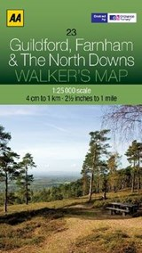 Walker's Map 23 Guildford 1 : |  |