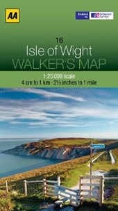 Walker's Map 16 Isle of Wight 1 :