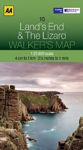 Walker's Map 10 Lands End 1 :