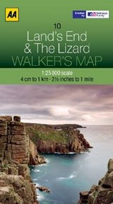 Walker's Map 10 Lands End 1 : |  |