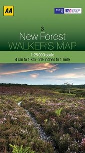 Walker's Map 03 New Forest 1 :